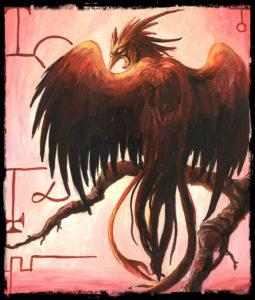 Arte - Phenex - Magia do Caos' alt='Arte - Phenex - Magia do Caos