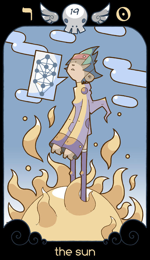 Atom Bomb Tarot Bluefluke Magia do Caos