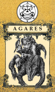 Daemon Agares – 2º Espírito da Goétia