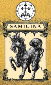 Daemon Samigina – 4º Espírito da Goétia