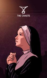 The Chaste – A Casta – Os Quarenta Servidores