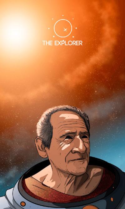 Arte - The Explorer - Os Quarenta Servidores de Tommie Kelly - Magia do Caos