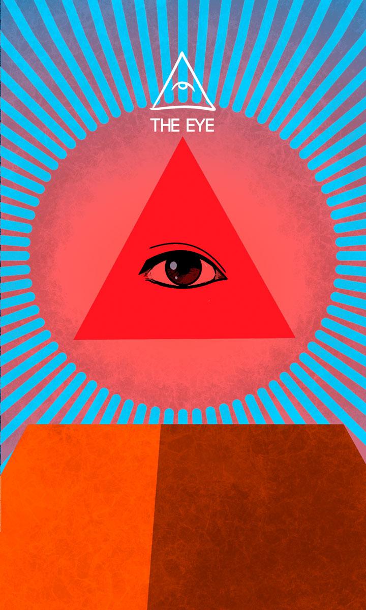 Arte - The Eye - Os Quarenta Servidores de Tommie Kelly - Magia do Caos