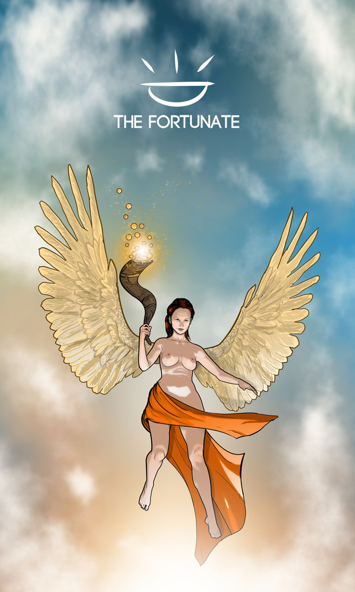 Arte - The Fortunate - Os Quarenta Servidores de Tommie Kelly - Magia do Caos
