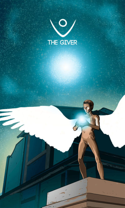Arte - The Giver - Os Quarenta Servidores de Tommie Kelly - Magia do Caos