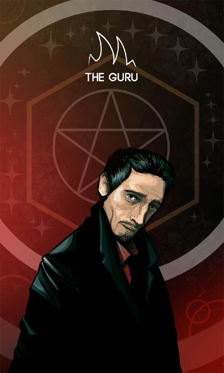 Arte - The Guru - Os Quarenta Servidores de Tommie Kelly - Magia do Caos