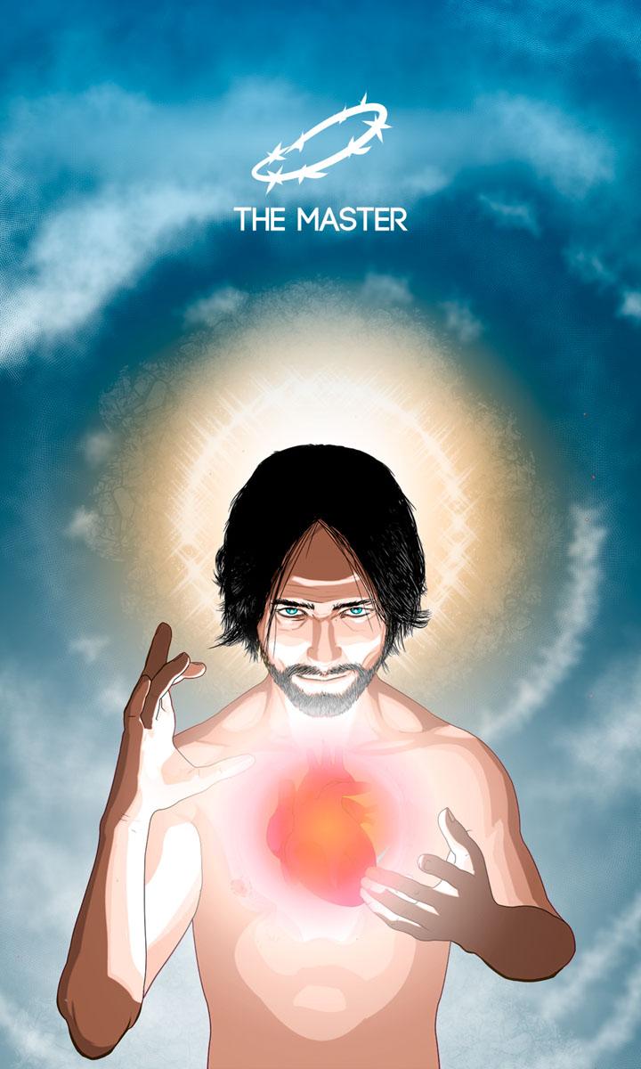 Arte - The Master - Os Quarenta Servidores de Tommie Kelly - Magia do Caos
