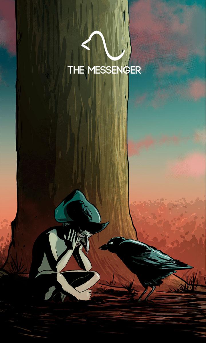 Arte - The Messenger - Os Quarenta Servidores de Tommie Kelly - Magia do Caos