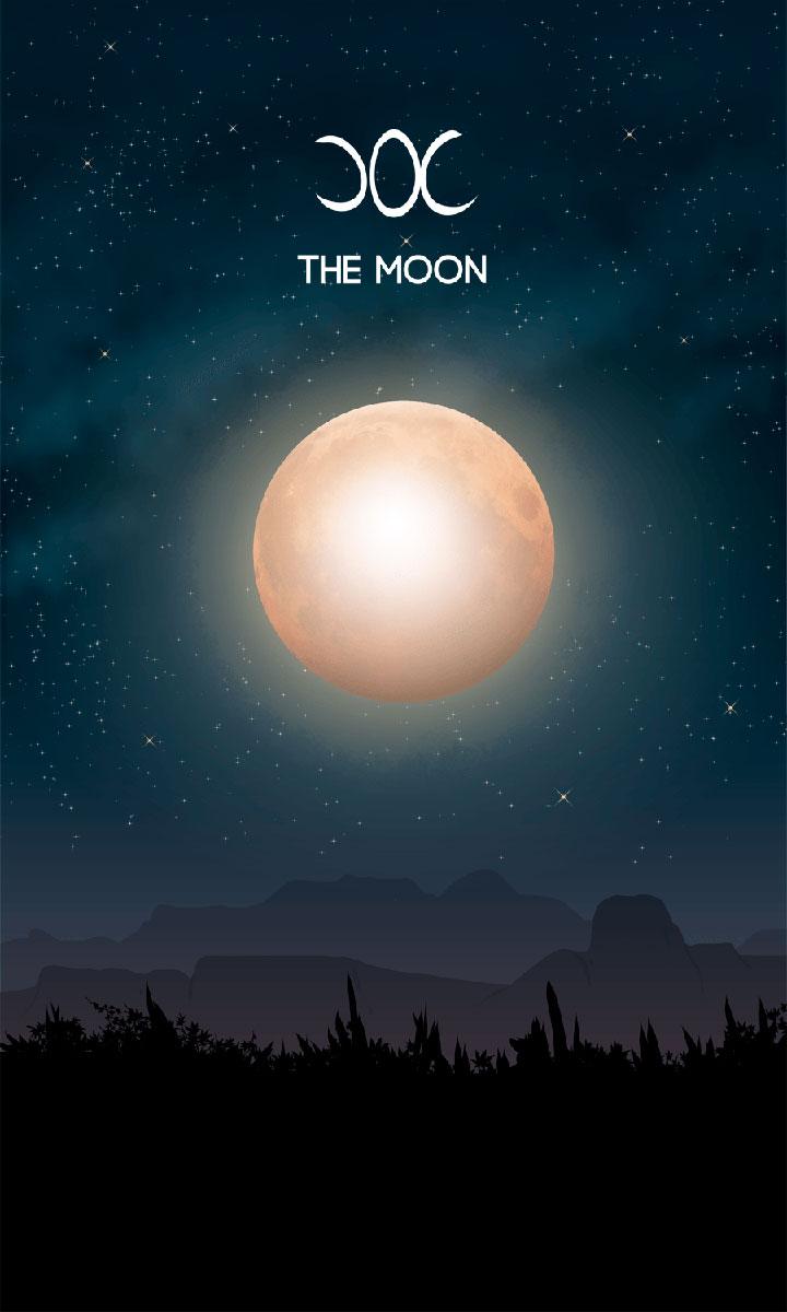 Arte - The Moon - Os Quarenta Servidores de Tommie Kelly - Magia do Caos