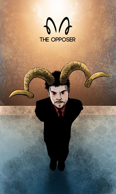 Arte - The Opposer - Os Quarenta Servidores de Tommie Kelly - Magia do Caos