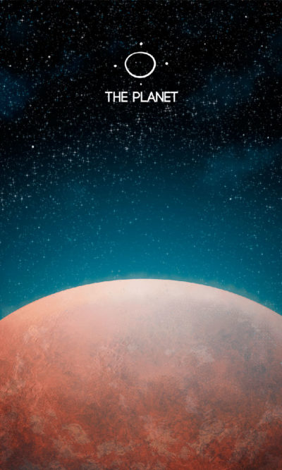 Arte - The Planet - Os Quarenta Servidores de Tommie Kelly - Magia do Caos