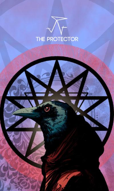 Arte - The Protector - Os Quarenta Servidores de Tommie Kelly - Magia do Caos