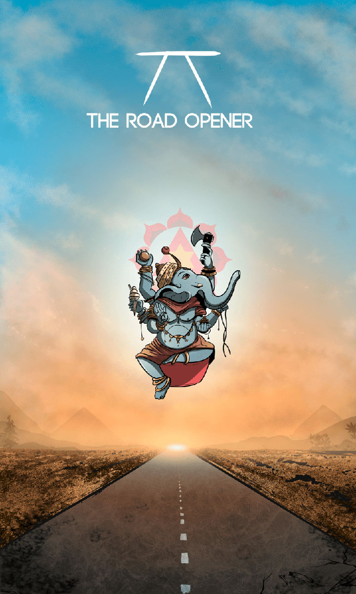 Arte - The Road Opener - Os Quarenta Servidores de Tommie Kelly - Magia do Caos