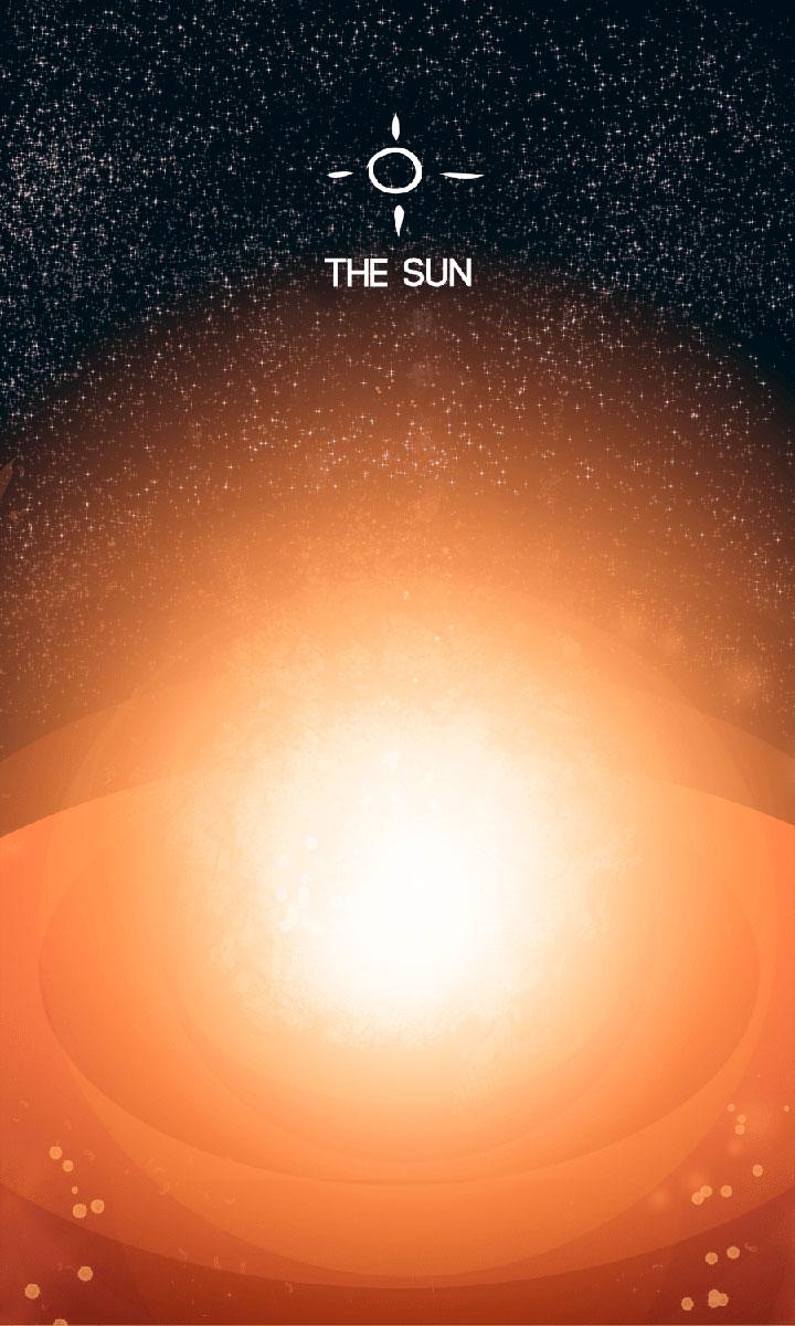 Arte - The Sun - Os Quarenta Servidores de Tommie Kelly - Magia do Caos