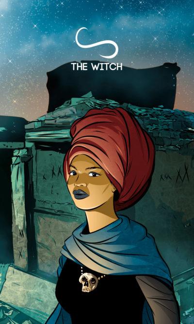 Arte - The Witch - Os Quarenta Servidores de Tommie Kelly - Magia do Caos